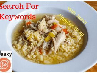 Search For Keywords With Jaaxy Alphabet Soup