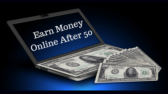 How to earn money online from home after 50