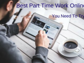 The best part-time work online you need to try