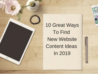 New Website Content Ideas In 2019