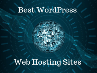 best WordPress web hosting sites